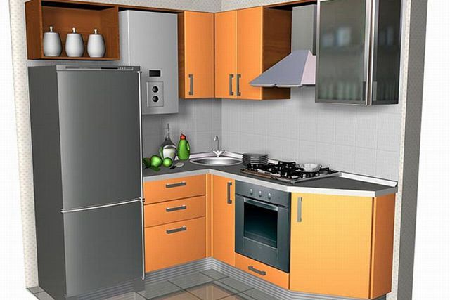 кухня хрущевка ремонт фото | Photo-Find.ru