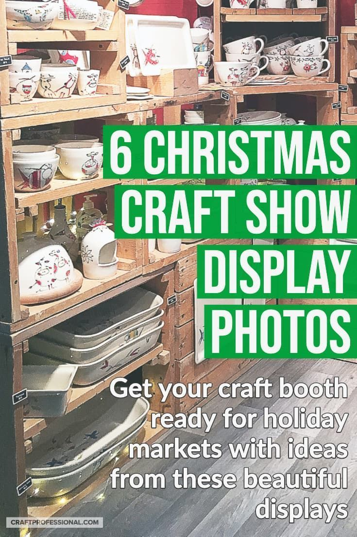 Christmas Craft Shows 2020 Christmas Craft Show Booths Arts And Crafts in 2020 | Christmas
