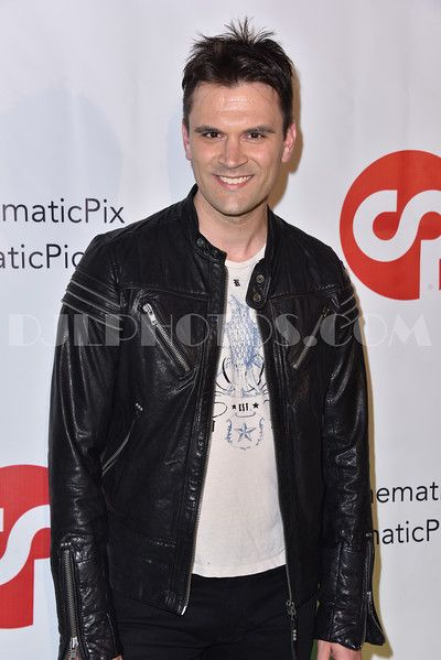 Kash Hovey attends the Launch Of Cinematic Pictures Publishing's 'Men Of Science Fiction' at Cinematic Pictures Gallery. (Photo by: David J Levin Photography)