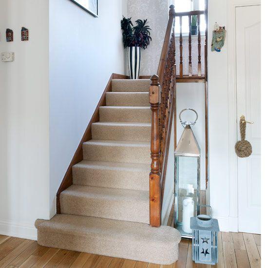 Hallway | Leigh's seaside-style house tour | New England house tour | Modern house tour | Style at Home | Housetohome