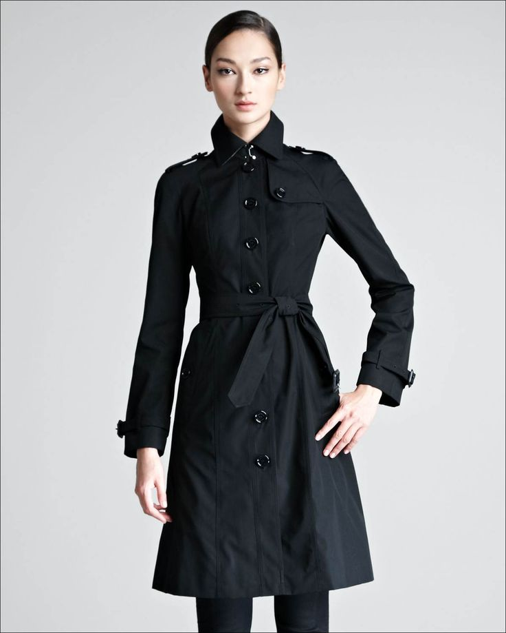 Perfect Womens Trench Coat : Single Breasted Trench Coat For Women