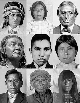 Pima and Yaqui Tribe Members.  Face Books of the First Anti-Federal Resistance Movement.