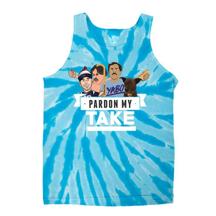 PMT Logo Tye Dye tank (blue) Tye dye, Tye, Hoodie shirt