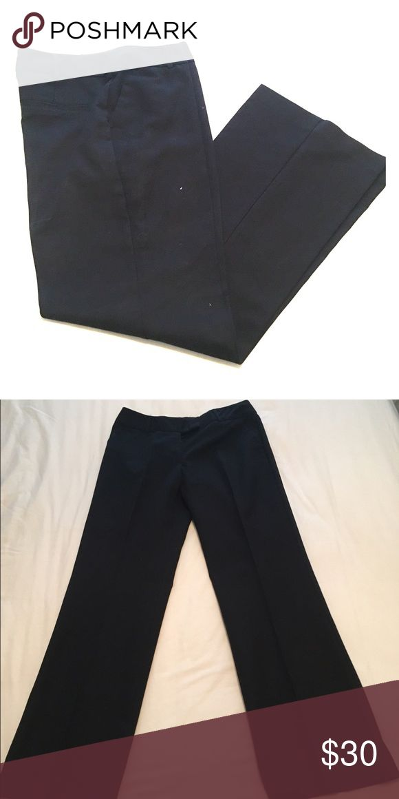 Worthington dress trousers Women's size 6, average length, black trousers. Never worn. In great shape and perfect for work! Worthington Pants Trousers