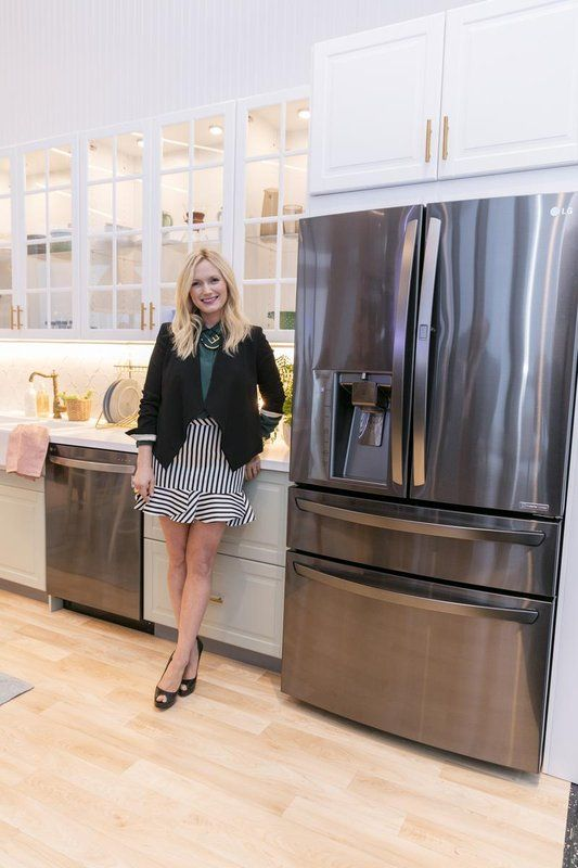 Lg S New Black Stainless Steel Appliances Are Almost Too Cool For