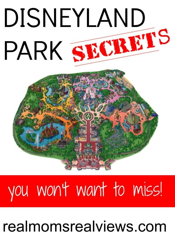 [Happiest Vacation Ever] Disneyland Park Secrets – Real Moms Real Views