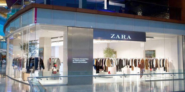 ZARA. Primera tienda física para comprar online.