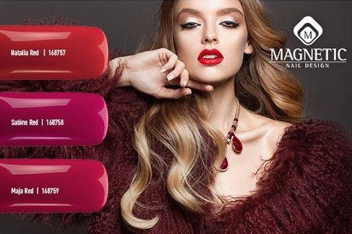 Reds Collection AW17 Long Lasting Nail Polish Natalia Red 168757 Sabine Red 168758 Maja Red 168759 info@higheracademy.co.uk 07535485082 #red #rednails #nailpolish #bbloggers #love #magneticnails #miltonkeynes #birmingham #wales #coventry #derby #bbloggers #love