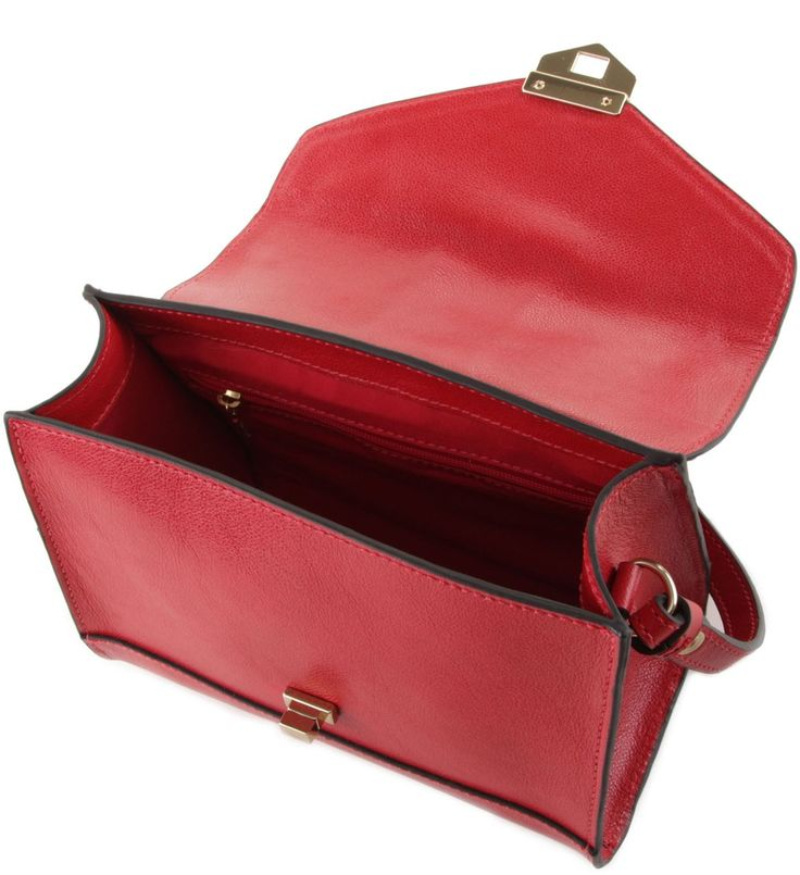Bolsa Satchel Pequena Scarlet   Arezzo