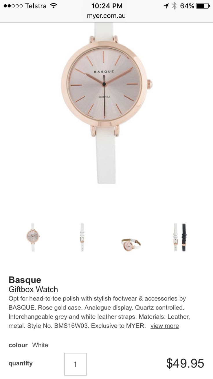 Only if you get rose gold necklace. Otherwise get watch in gold or silver