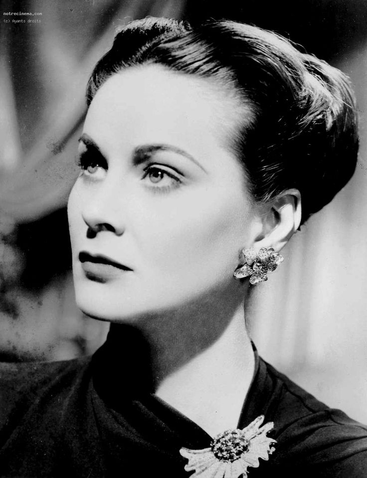 Alida Valli in THE PARADINE CASE.