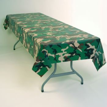 Camouflage Banquet Table Cover