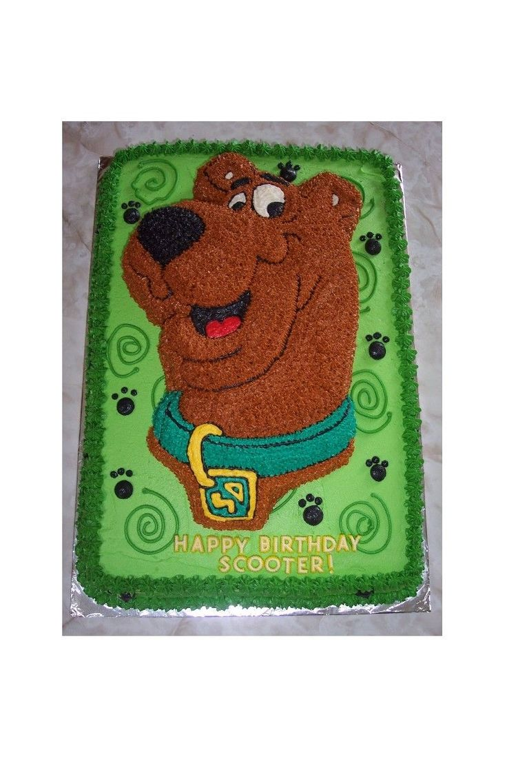 7 best scooby doo 4th bday images on pinterest birthdays for Scooby doo cake template