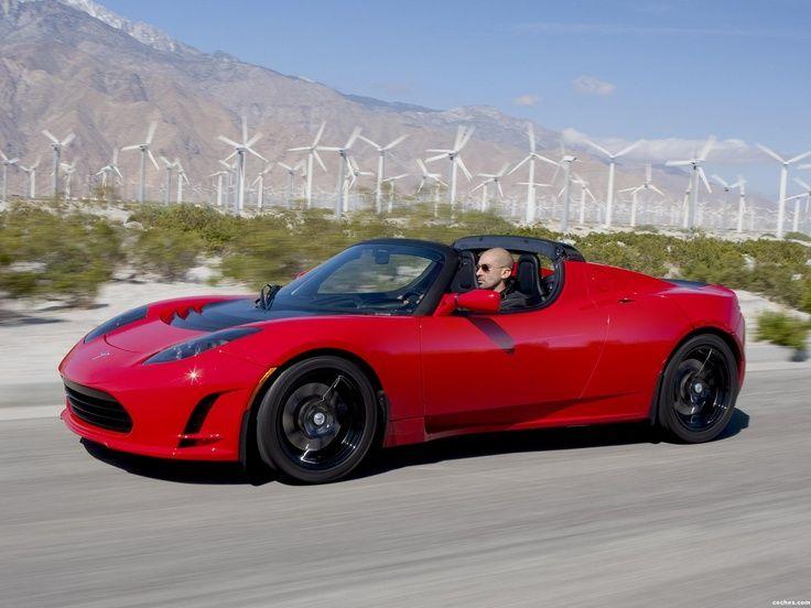 Best Dubai Luxury And Sports Cars In Dubai: Tesla roadster 2.5 2010