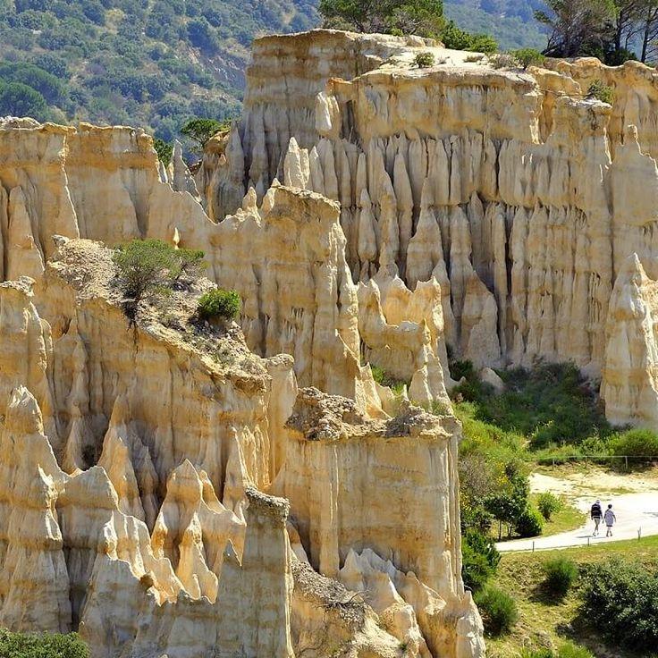 Les orgues de l'Ille sur Tet Dans les Pyrénées Orientales