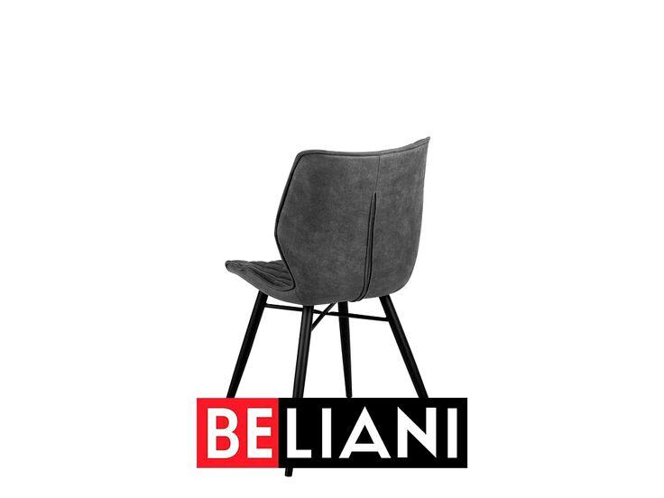Formschones Stuhl Set In Grau In 2020 Beliani Roman Artifacts White Wash