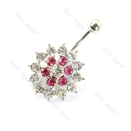 Cheap Body Jewelry, Buy Directly from China Suppliers:Description:100% Brand new and high qualityBelly ringsMaterial:Stainless Steel & Crystal316L Surgical Stainless