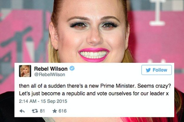 Rebel Wilson Isn't Impressed With Australian Politics Right Now