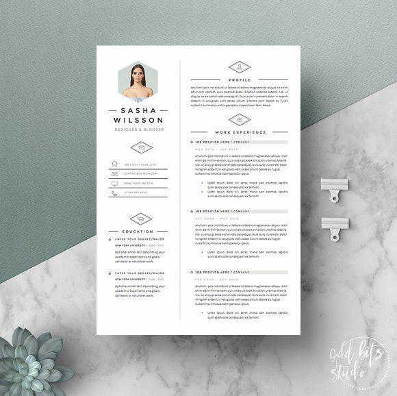 5 Page Resume Template Galerista Lebenslaufvorlage Web Design Webdesign