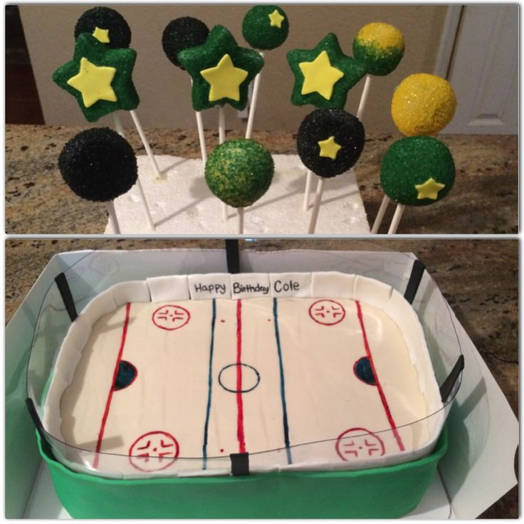 Dallas stars birthday cake