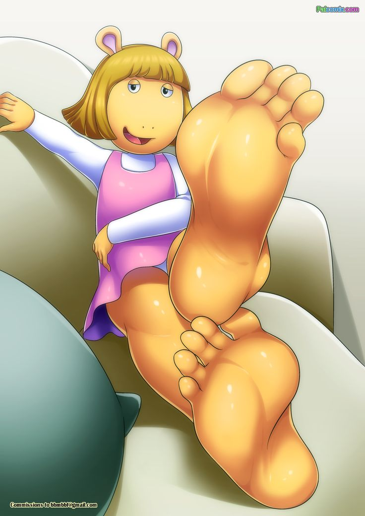 e621 2016 5_toes aardvark anthro arthur_(series) bbmbbf clothing cub cushion d.w._reed digital_media_(artwork) dress feet female foot_fetish foot_focus gradient_background half-closed_eyes humanoid_feet inviting looking_at_viewer mammal palcomix panties simple_background sofa solo toes underwear upskirt young