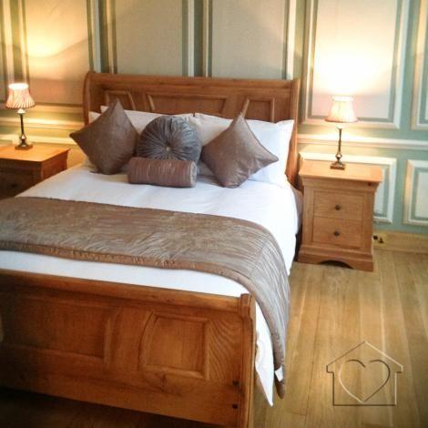 Heritage sleigh bed superking