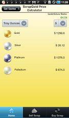 Scrap Gold Price Calculator  https://play.google.com/store/apps/details?id=com.scrapgoldpricecalculator
