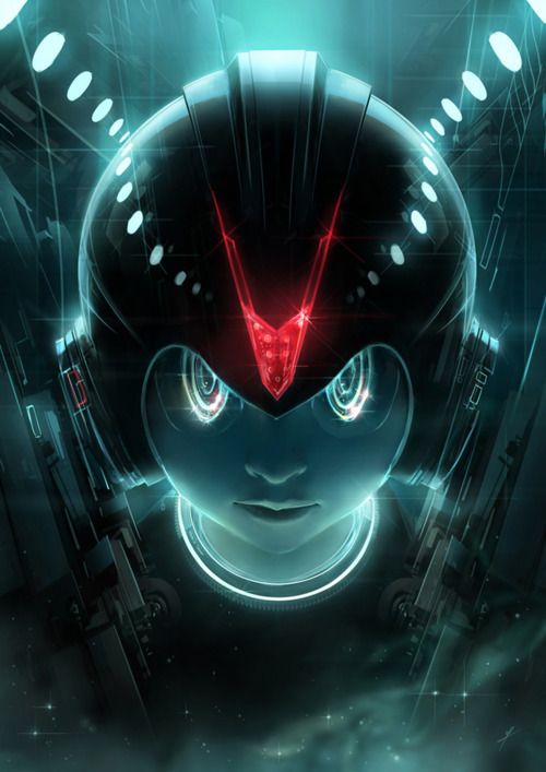 Mega Tron    Megaman would have been awesome in Tron..!