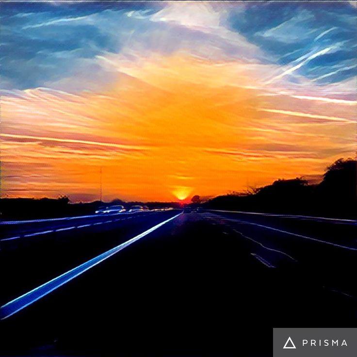 Sunset way!!