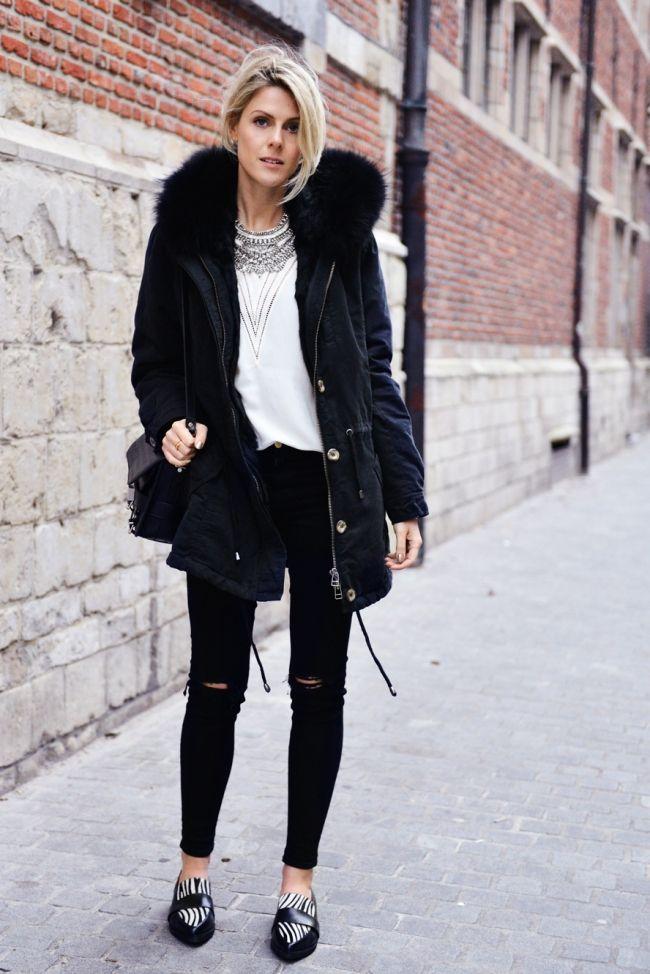 Best 25  Black parka coat ideas on Pinterest | Black parka ...