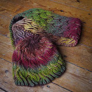 knit | reversible cowl | Liomara by Anna-Sophia Mare on Ravelry.com ♡
