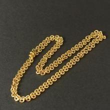 Καδένα από ατσάλι σε απόχρωση του χρυσού με διάσταση 70cm. Κωδ ZNAA0002G 25,00 €