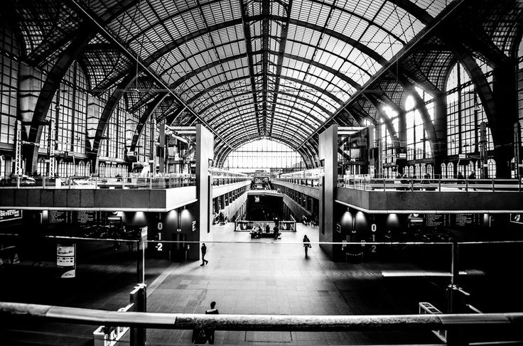 Antwerp Belgium train station by Gianni Agosti on 500px