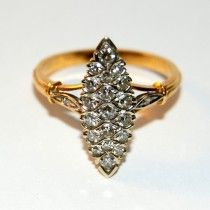 Imperial gold ring with diamonds. $615 http://www.astercollection.com/jewelery-selection/imperial-gold-ring-with-diamonds.html