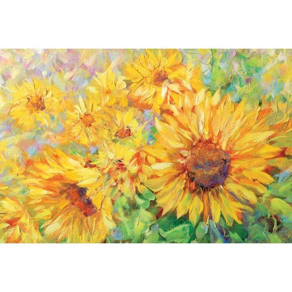 Sunflowers, 2012 - Postcards, Pictorial art
