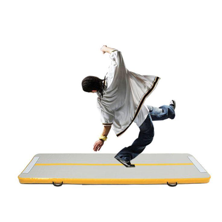 IPRee® Gym Air Track Floor Pad Home Gymnastics Tumbling Inflatable Rolling Mat Sale - Banggood.com