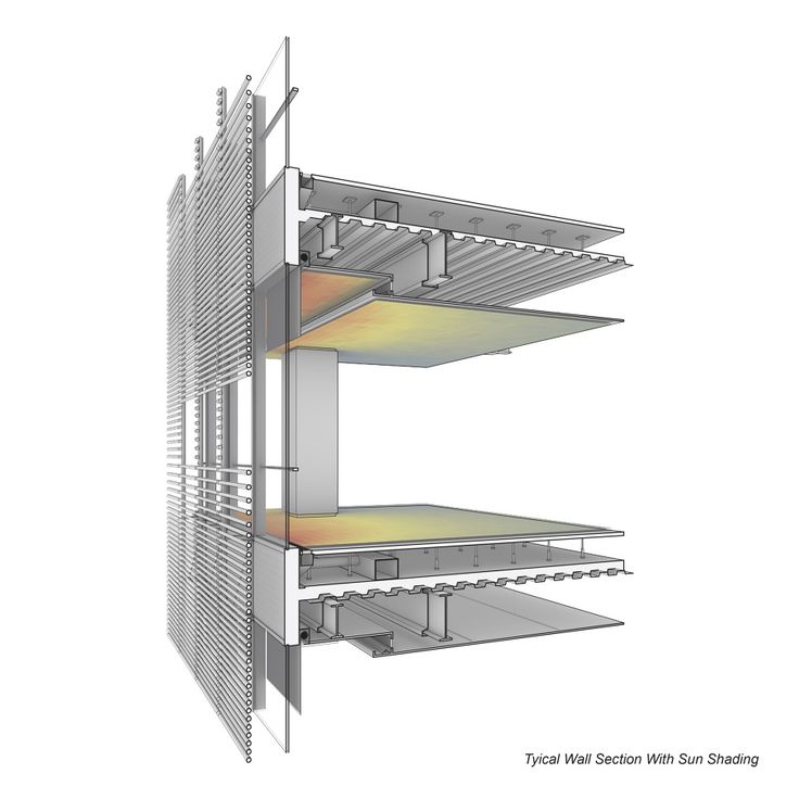 The New York Times Building, New York City, United States (2003–07) / Renzo Piano