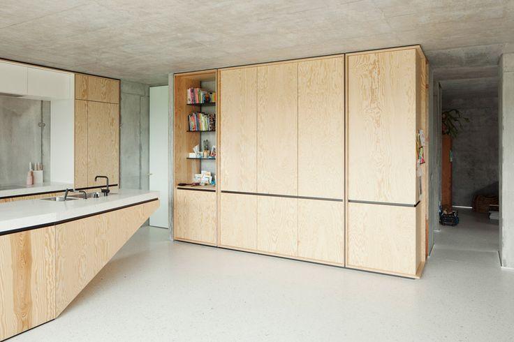 The kitchen of ISM Architecten's TDH House.