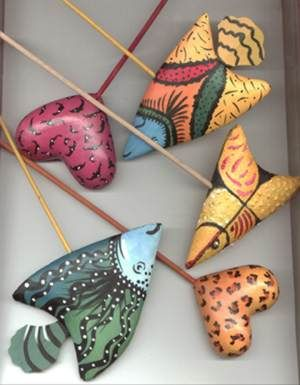 Papel mache para decorar objetos ~ Artesania Manualidades