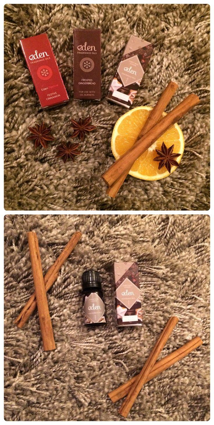 Vonné oleje Eden s vánočními vůněmi #vanoce #christmas #aromaterapie