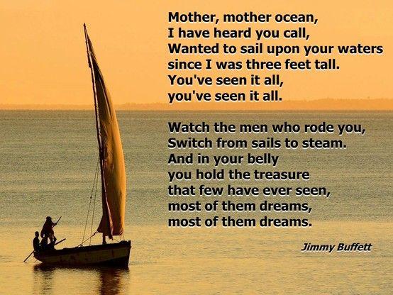 Jimmy Buffett--one of my favorite songs!