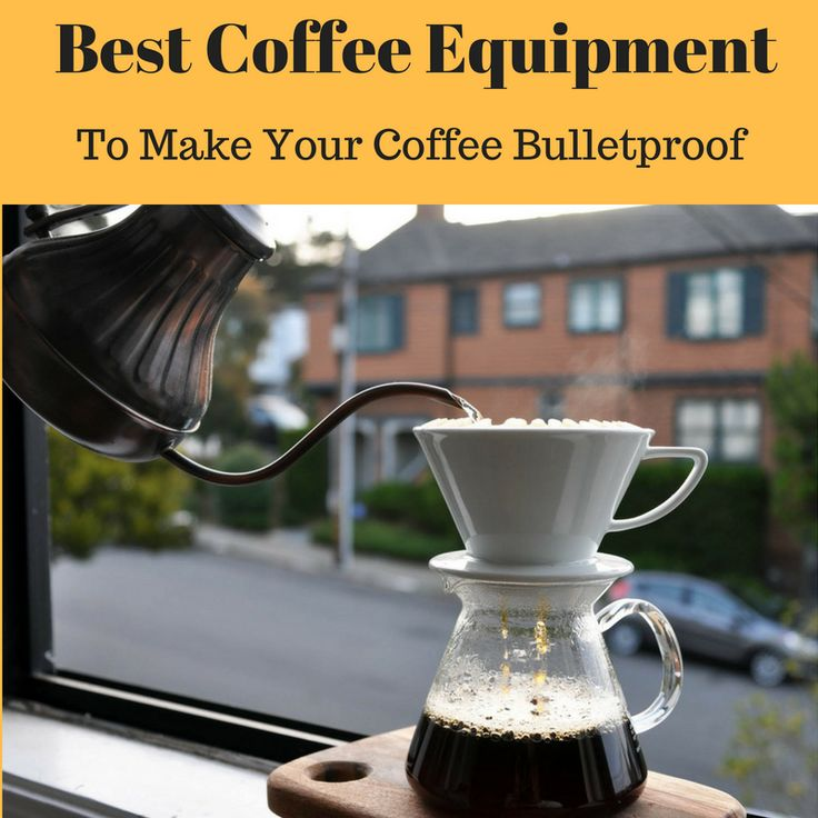 Best Coffee Equipment to Make Bulletproof Coffee - Recommended barista level tools of the trade that you can use at home in your kitchen are all in one place at http://ilovebuttercoffee.com/bulletproof-coffee-equipment/ This includes: cool cups and mugs, precision pouring Bonavita kettles, brewing devices like single use coffee makers and V60 pourover jugs, electric and manual coffee bean grinders, digital scales and timers for accurate brew time, and food & hot beverage blenders. To get…