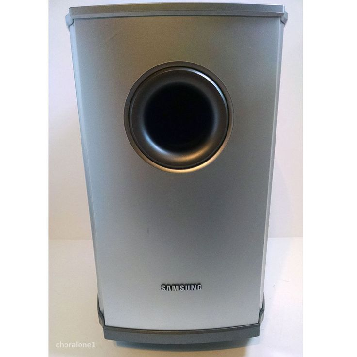 Samsung Pswa600e Passive Subwoofer 3 Ohm For Ht Db600