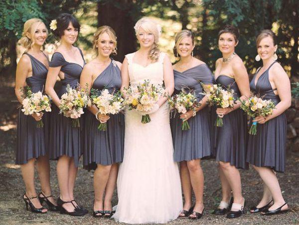 17 Best Images About Dessy Twist Wrap Bridesmaid Dresses