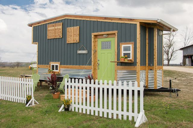 The Homestead: a 210 sq ft tiny house from Austin-based builder, Raw Design Creative.