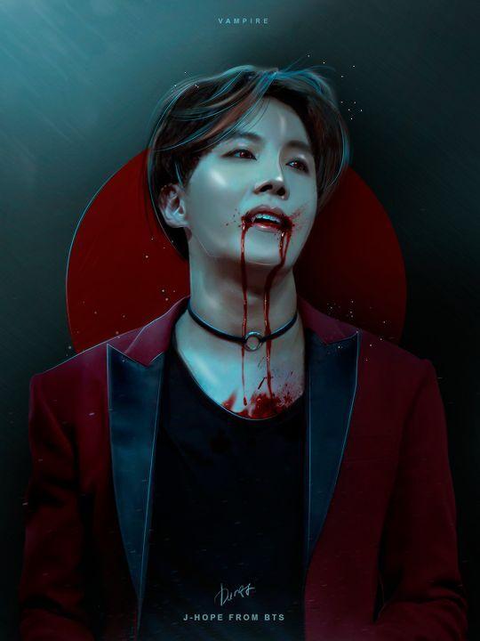 in the dark a bts vampire au bts x reader  intro with