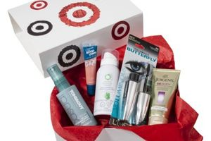 Target Beauty Box The target beauty box is a one-time purchase that is released about every season. Make sure to sign up for the My Subscription Addiction newsletter if you want to be notified the next time it goes on sale!