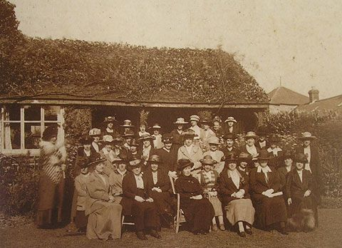 Llanfair PG WI 1915 - The First WI in Britain