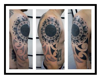 Downtown Buenos Aires Tattoo Studio: MAORI TATTOO (Cover up)