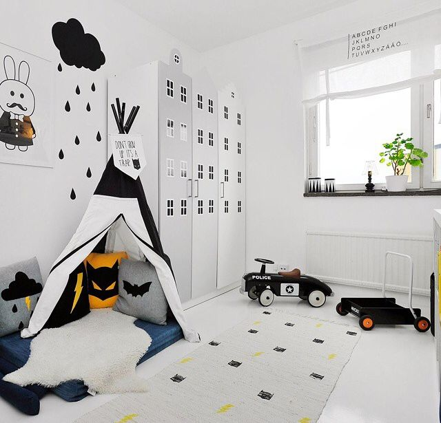 Boys superhero room